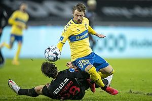 Simon Hedlund (Br�ndby IF), Erik Sviatchenko  (FC Midtjylland)