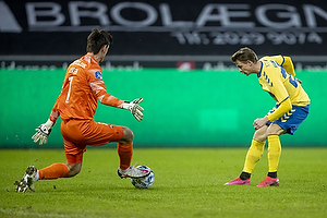 Simon Hedlund (Br�ndby IF), Jesper Hansen  (FC Midtjylland)