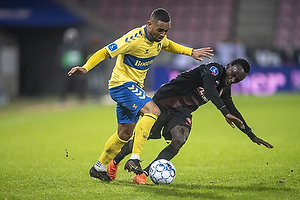 Kevin Mensah (Br�ndby IF), Pione Sisto  (FC Midtjylland)