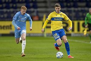 Mikael Uhre (Br�ndby IF), Tobias Klysner  (Randers FC)