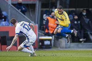 Lukas Lerager  (FC K�benhavn), Kevin Mensah (Br�ndby IF)