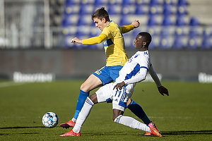 Mikael Uhre (Br�ndby IF), Mohamed Daramy  (FC K�benhavn)