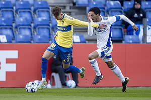 Carlos Zeca  (FC K�benhavn), Jesper Lindstr�m (Br�ndby IF)