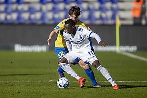 Peter Bjur (Br�ndby IF), Mohamed Daramy  (FC K�benhavn)