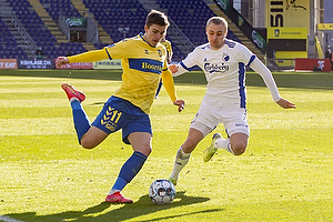Mikael Uhre (Br�ndby IF), Victor Nelsson  (FC K�benhavn)
