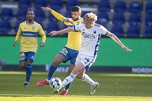 Anis Slimane (Br�ndby IF), Victor Kristiansen  (FC K�benhavn)