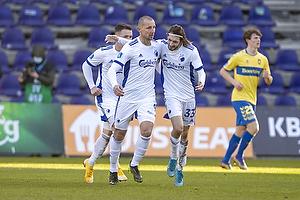 Kamil Wilczek, m�lscorer  (FC K�benhavn), Rasmus Falk  (FC K�benhavn)