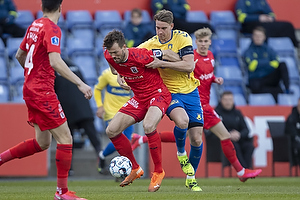 Andreas Maxs�, anf�rer (Br�ndby IF), Patrik Mortensen, anf�rer  (Agf)