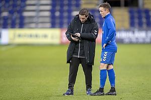 Martin Retov, assistenttr�ner (Br�ndby IF), Lasse Vigen Christensen (Br�ndby IF)