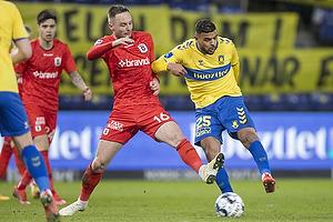 Anis Slimane (Br�ndby IF), Casper H�jer Nielsen  (Agf)