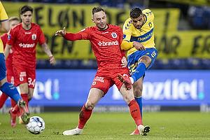 Casper H�jer Nielsen  (Agf), Anis Slimane (Br�ndby IF)