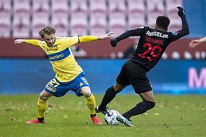 Simon Hedlund (Br�ndby IF), Paul Victor da Silva  (FC Midtjylland)