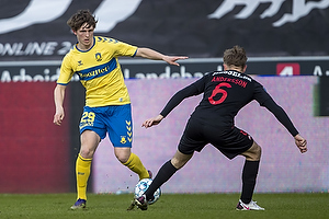 Peter Bjur (Br�ndby IF), Joel Andersson  (FC Midtjylland)