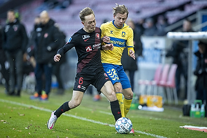 Simon Hedlund (Br�ndby IF), Joel Andersson  (FC Midtjylland)