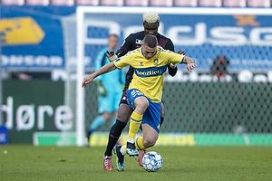 Josip Radosevic (Br�ndby IF), Sory Kaba  (FC Midtjylland)