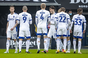 Lukas Lerager  (FC K�benhavn), Kamil Wilczek  (FC K�benhavn), Victor Nelsson  (FC K�benhavn), Peter Ankersen  (FC K�benhavn), Rasmus Falk  (FC K�benhavn)