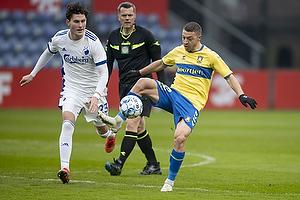 Josip Radosevic (Br�ndby IF), Jonas Wind  (FC K�benhavn)