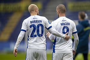 Nicolai Boilesen  (FC K�benhavn), Kamil Wilczek  (FC K�benhavn)