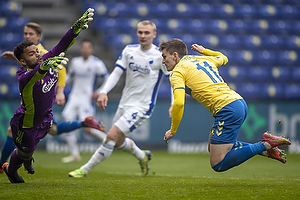 Sten Grytebust  (FC K�benhavn), Mikael Uhre (Br�ndby IF)