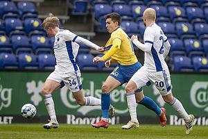 Victor Nelsson  (FC K�benhavn), Mikael Uhre (Br�ndby IF)