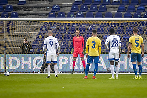 Marvin Schw�be (Br�ndby IF), Kamil Wilczek  (FC K�benhavn)