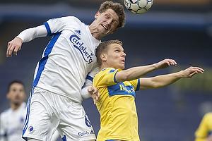 Sigurd Rosted (Br�ndby IF), Jens Stage  (FC K�benhavn)