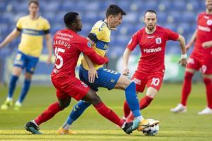 Bubacarr Sanneh  (Agf), Andrija Pavlovic (Br�ndby IF)