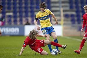 Peter Bjur (Br�ndby IF), Alexander Munksgaard  (Agf)