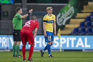 Jens Maae, dommer, Tobias B�rkeeiet (Br�ndby IF)