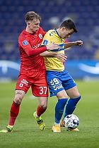 Andrija Pavlovic (Br�ndby IF), Sebastian Hausner  (Agf)