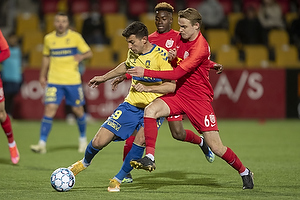 Andrija Pavlovic (Br�ndby IF), Jacob Steen Christensen  (FC Nordsj�lland)