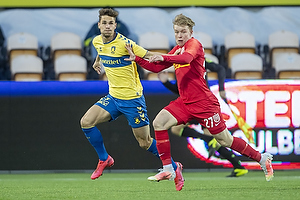 Andreas Bruus (Br�ndby IF), Daniel Svensson  (FC Nordsj�lland)