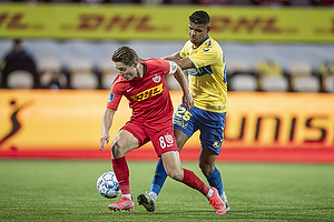 Anis Slimane (Br�ndby IF), Magnus Kofod Andersen  (FC Nordsj�lland)