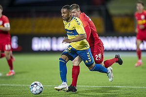Kevin Mensah (Br�ndby IF), Ivan Mesik  (FC Nordsj�lland)
