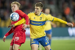 Mikael Uhre (Br�ndby IF), Daniel Svensson  (FC Nordsj�lland)