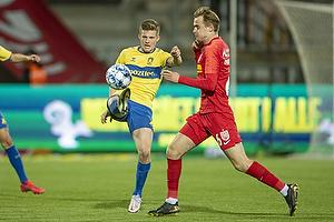 Morten Frendrup (Br�ndby IF), Jacob Steen Christensen  (FC Nordsj�lland)