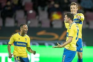 Andrija Pavlovic, m�lscorer (Br�ndby IF), Lasse Vigen Christensen (Br�ndby IF)