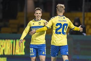 Lasse Vigen Christensen, m�lscorer (Br�ndby IF), Oskar Fallenius (Br�ndby IF)