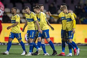 Morten Frendrup (Br�ndby IF), Josip Radosevic (Br�ndby IF), Lasse Vigen Christensen, m�lscorer (Br�ndby IF), Kevin Mensah (Br�ndby IF), Oskar Fallenius (Br�ndby IF)