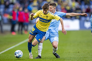 Jesper Lindstr�m (Br�ndby IF), Lasse Berg Johnsen  (Randers FC)