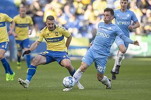 Josip Radosevic (Br�ndby IF), Vito Hammersh�j-Mistrati  (Randers FC)