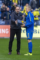 Hj�rtur Hermannsson (Br�ndby IF), Carsten V. Jensen, fodbolddirekt�r (Br�ndby IF)