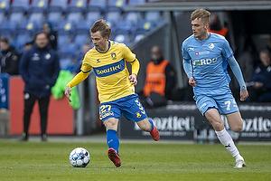 Simon Hedlund (Br�ndby IF), Mikkel Kalles�e  (Randers FC)