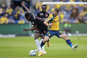Frank Onyeka  (FC Midtjylland), Josip Radosevic (Br�ndby IF)