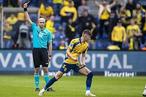 Peter Kj�rsgaard, Dommer, Jesper Lindstr�m (Br�ndby IF)