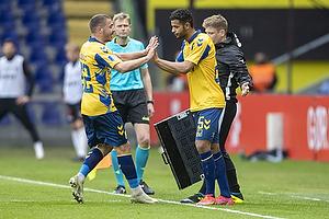 Josip Radosevic (Br�ndby IF), Anis Slimane (Br�ndby IF)