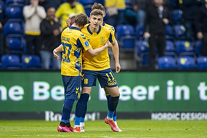 Simon Hedlund, m�lscorer (Br�ndby IF), Mikael Uhre (Br�ndby IF)