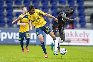 Anis Slimane (Br�ndby IF), Awer Mabil  (FC Midtjylland)