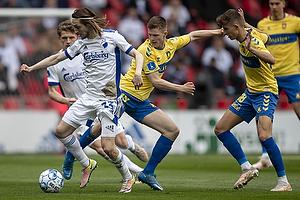 Rasmus Falk  (FC K�benhavn), Morten Frendrup (Br�ndby IF), Jesper Lindstr�m (Br�ndby IF)
