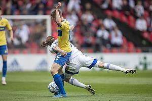 Morten Frendrup (Br�ndby IF), Rasmus Falk  (FC K�benhavn)